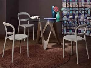 Runder Tisch Mit Stühlen : vr24 runder tisch aus harz mit glasplatte durchmesser 120 cm sediarreda ~ Frokenaadalensverden.com Haus und Dekorationen