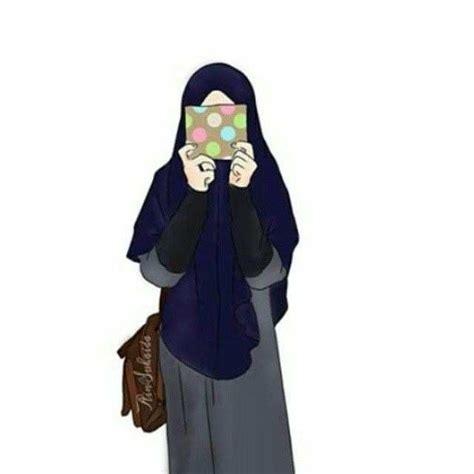 gambar wallpaper kartun hijab gambar el animasi gambar