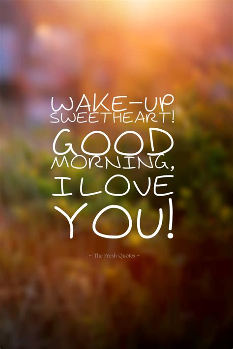 Cute & Romantic Good Morning Wishes Images €� Thefreshquotes