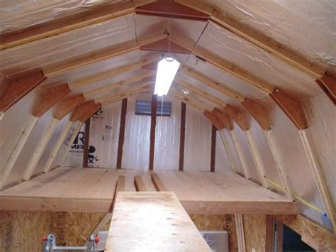 building  shed loft  easy