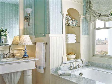 Decoration  Classic Coastal Bathroom Decor With White