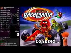 Muppet RaceMania 100% Speed Run World Record in 5:22:08 ...