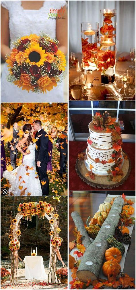 23 Best Fall Wedding Ideas In 2017 Weddings Wedding And
