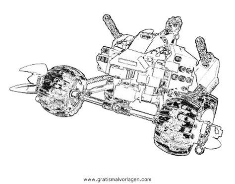 dessins de coloriage lego chima vehicule  imprimer