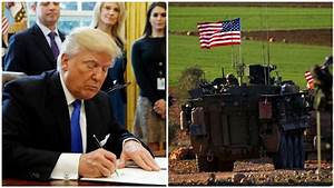 White House appears to delay Trump's order for Syrian ...