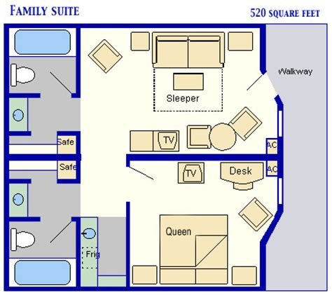family suites  disneys  star  resort