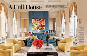 Full House Architectural Digest March 2014 Interiors