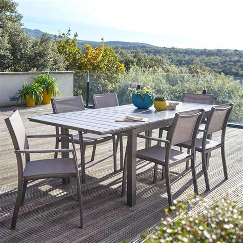chaises de jardin castorama emejing salon de jardin en palette castorama images