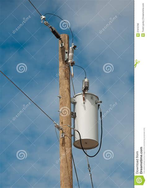electric transformer stock photo image