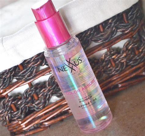 nexxus color assure pre wash primer nexxus color assure pre wash primer
