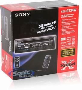 Sony Cdx Gt34w Stereo Wiring Diagram