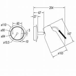 Wandlampe Mit Schalter : coole metall wandlampe mit schalter leuchte im industrie design ~ Watch28wear.com Haus und Dekorationen