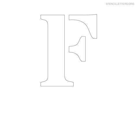 letter stencils to print stencil letters f printable free f stencils stencil 9019