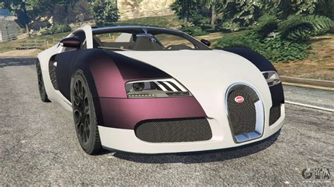 Bugatti Gta V by Bugatti Veyron Grand Sport V4 0 For Gta 5