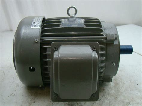 Westinghouse Electric Motor westinghouse teco 7 5hp max e1 electric motor 230 460v max