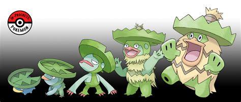 progress pokemon evolutions  lotad  water