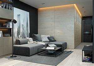 5 small studio apartments with beautiful design With modern studio apartment design layouts