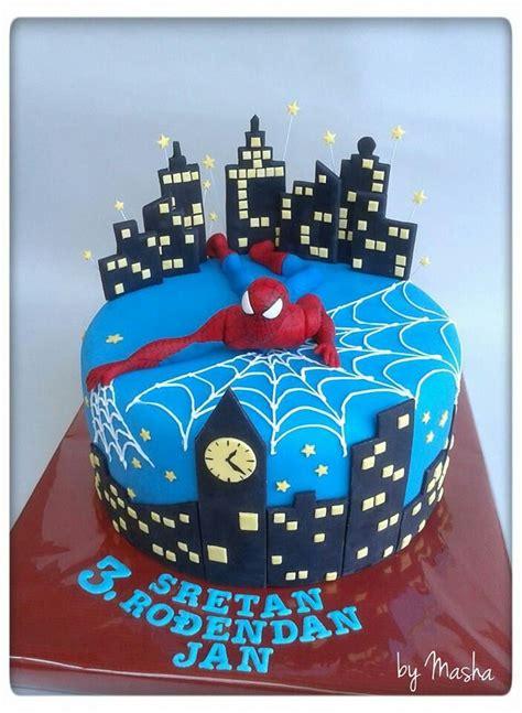 bolo do homem aranha os 20 mais bonitos spiderman cake designs and cake