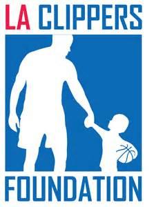 LA Clippers Foundation Logo