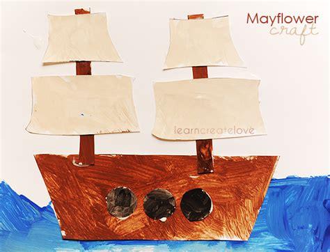 Mayflower Boat Craft by Printable Mayflower Craft From Learncreatelove Kid
