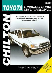 Toyota Tundra  Toyota Sequoia Repair Manual 2000