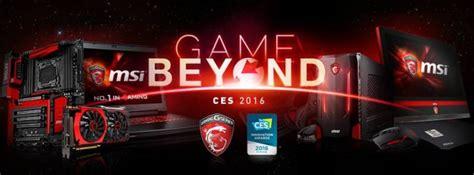 msi  showcase future  pc gaming  ces  legit