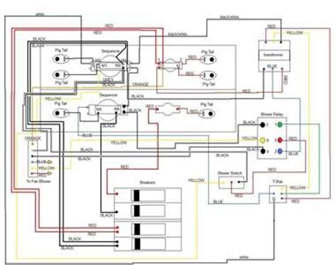 solved wiring diagram  electric furnance model fixya