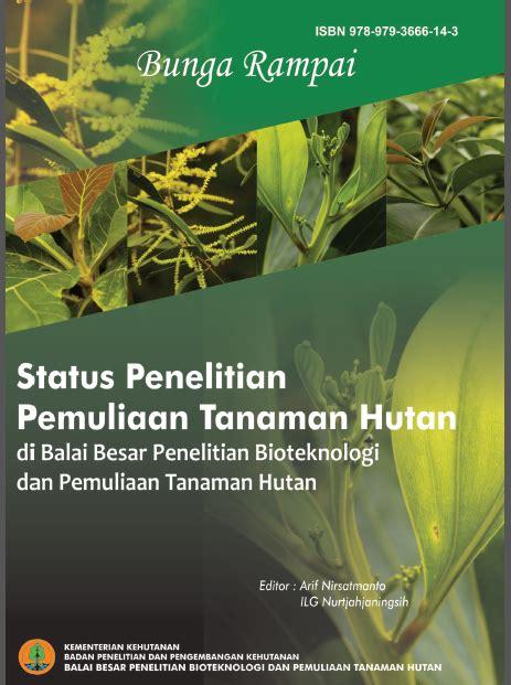 oben oceobed status penelitian pemuliaan tanaman hutan