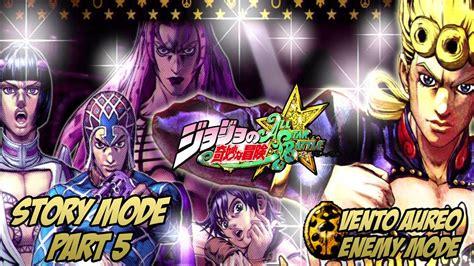 part 5 jojo anime release date jojo s adventure all battle story mode