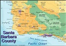 news tourism world: Tourist Map of Santa Barbara City images