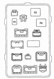 Toyota Hilux  1997 - 2005  - Fuse Box Diagram