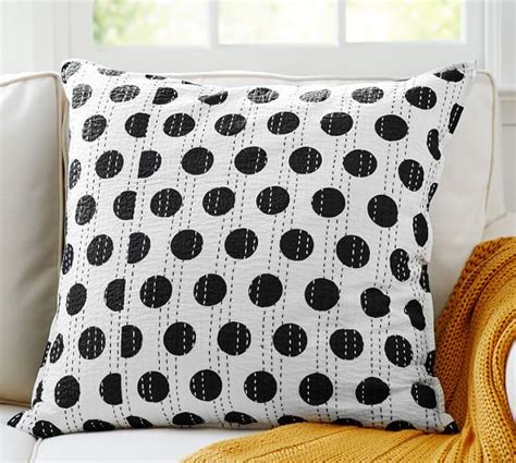 Dot Beaded Pillow Cover Pottery Barn by Kantha Dot Pillow Cover Pottery Barn