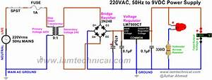 Image Result For Circuit Diagram For 9v Adapter