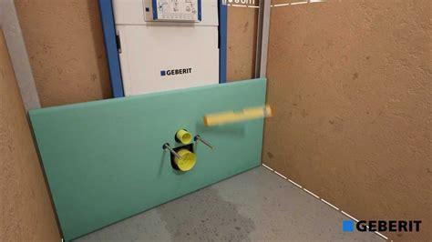 geberit spülkasten montageanleitung geberit duofix with sigma cistern 8cm installation
