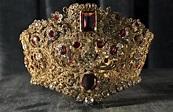 Crown jewels of Bavaria, Schatzkammer, Residenz, early 19t ...