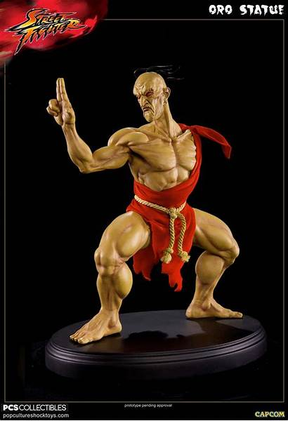 Oro Culture Pop Shock Statue Pcs Sfv