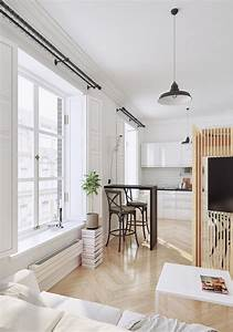 Minimalist Interior Design : 2 small apartment with modern minimalist interior design roohome ~ Markanthonyermac.com Haus und Dekorationen