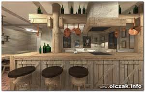 kitchen with backsplash architekt maciej olczak rustykalny dom wiejski