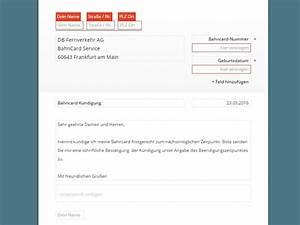 Bahn Online Ticket Rechnung : bus bahn ticket k ndigung vorlage download chip ~ Themetempest.com Abrechnung