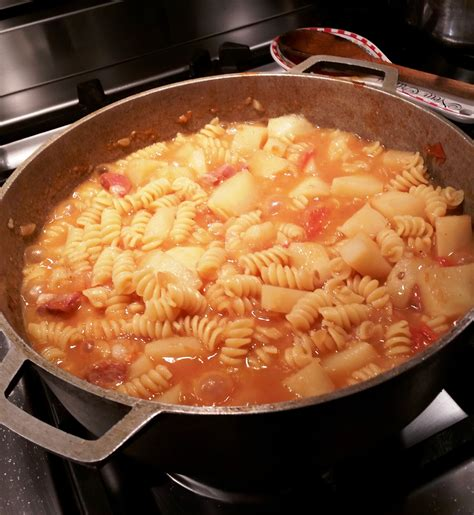 Pasta e Patate (pasta and potatoes) ⋆ REVERIES & RECIPES