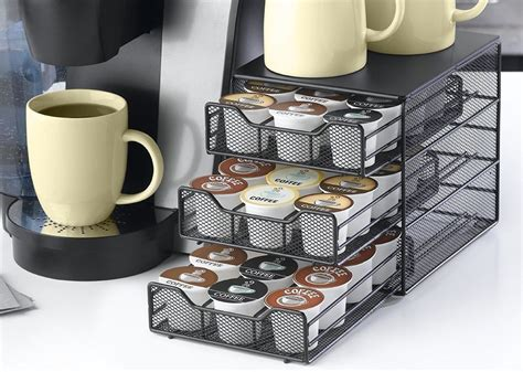 Frequent special offers and discounts up to 70% off for all products! Coffee Pod Holder 36 K-Cup Storage Rack Cups Keurig Pods Drawer Organizer Black #NIFTY | Keurig ...