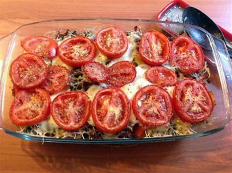 cuisine italienne recettes recette de gratin de légumes d 39 été et viande hachée sur