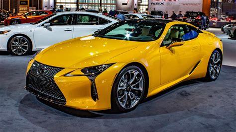 lexus lc  inspira superb yellow car  wallpaper