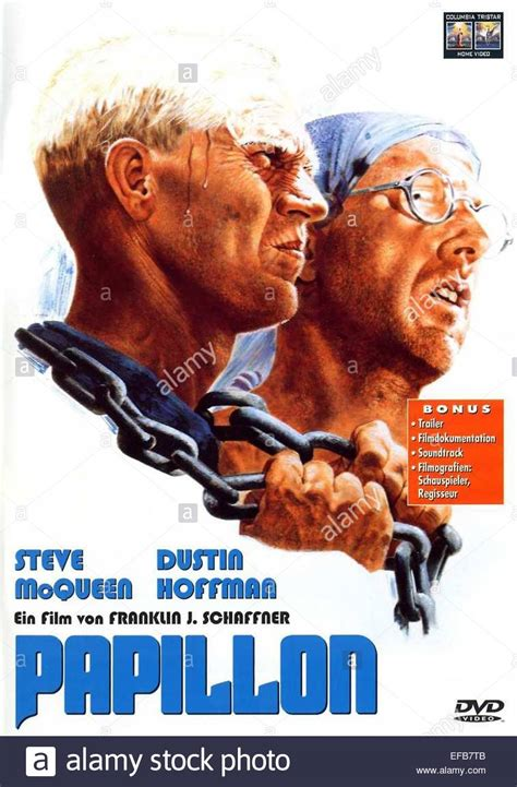 In 1933 he is sentenced to life imprisonment within the penal system in french guiana. STEVE MCQUEEN y Dustin Hoffman POSTER PAPILLON (1973 Foto & Imagen De Stock: 78308955 - Alamy