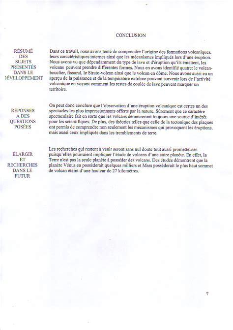 Conclusion Résumé De Texte by Les 10 233 D Un Travail De Recherche