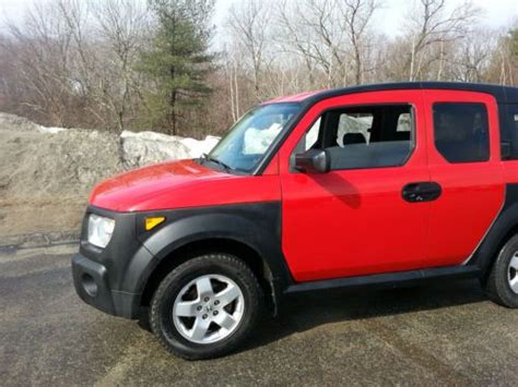 Sell Used 2005 Honda Element Ex 4wd Manual 5-speed
