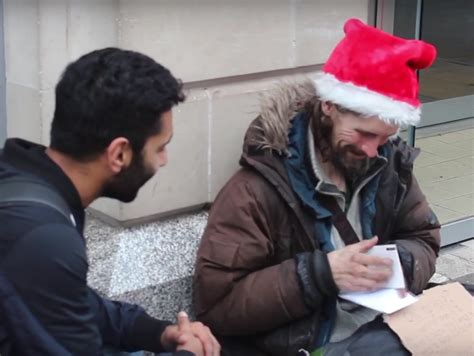 muslim man nails meaning of christmas as he gives gifts to