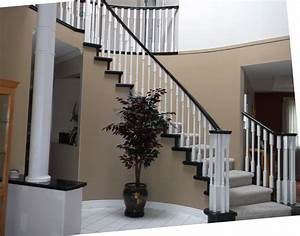 Spraying Multiple Paint Colors On A Staircase - YouTube