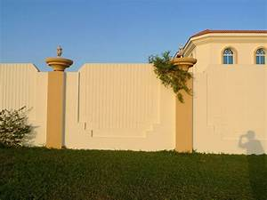 Boundary wall pictures estate buildings information portal