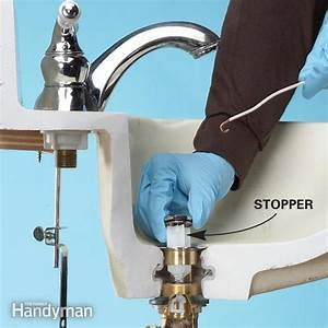 Unclog a bathroom sink without chemicals family handyman for How to clear bathroom sink drain